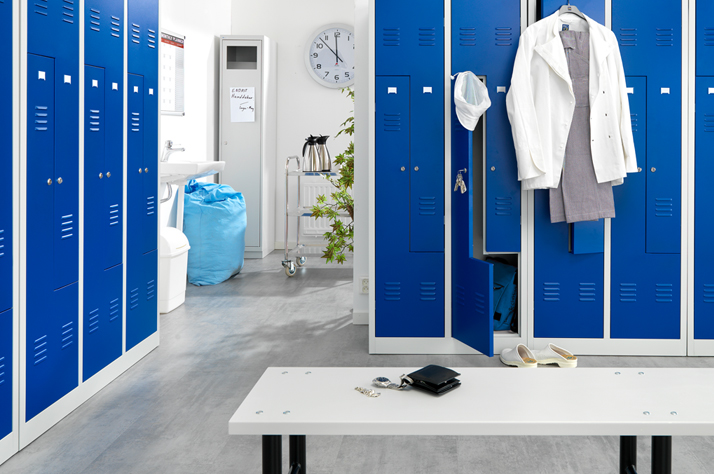Great Range of Useful Benches and Lockers for a Variety of Purposes
