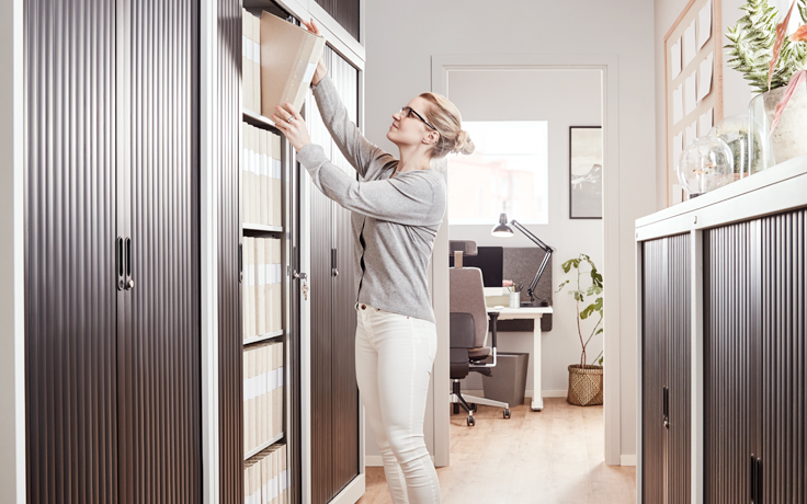 Save room with our space efficient office equipment