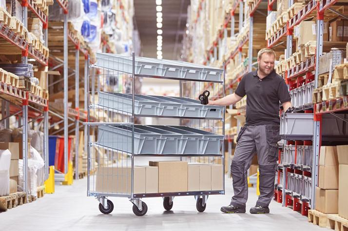 Golden Rules for Warehouse Organisation