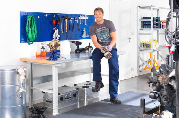 Furniture that Creates Dynamic Industrial Workshops