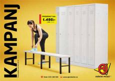 Kampanj - Omklädningsrum