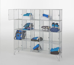 Lockers, perforated & mesh