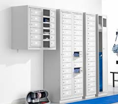 Personal belongings lockers