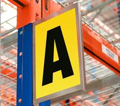Warehouse identification