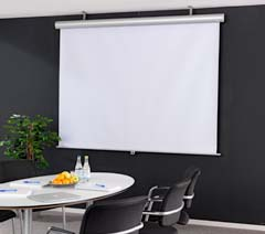 Projection screens & equipment
