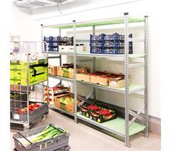 Food grade shelving