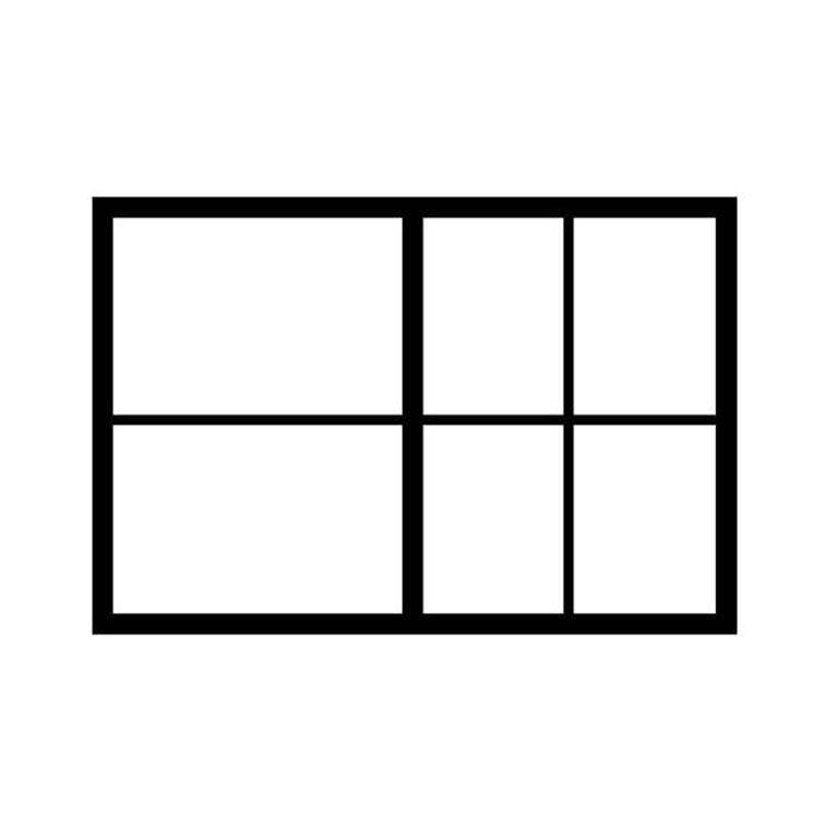 Podział szuflad formatu A1