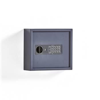 Nyckelskåp, 25 krokar, grå