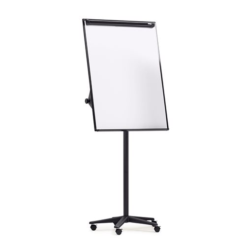 Mobile Flip Chart Stand Locking Castors Aj Products