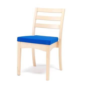Lunchroom chair: blue