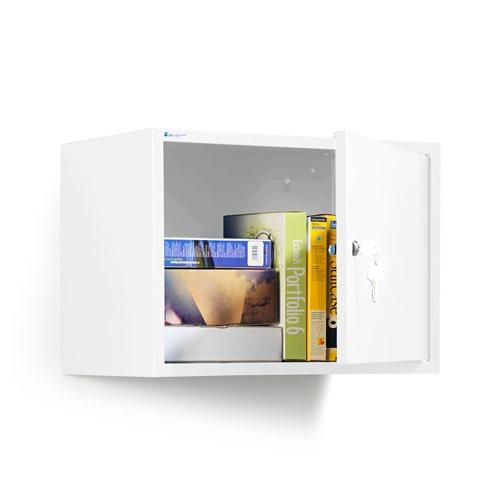 Biała szafka na dokumenty 380x550x340 mm
