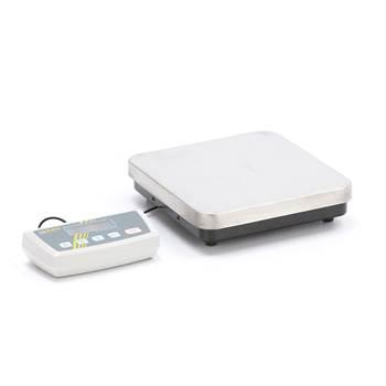 Elektronisk pakkevekt med rustfri veieplate, 60 kg, 315x305 mm