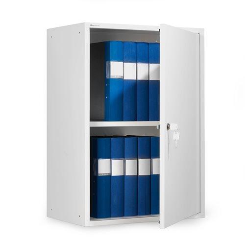 Biała szafka na segregatory o wys.780mm