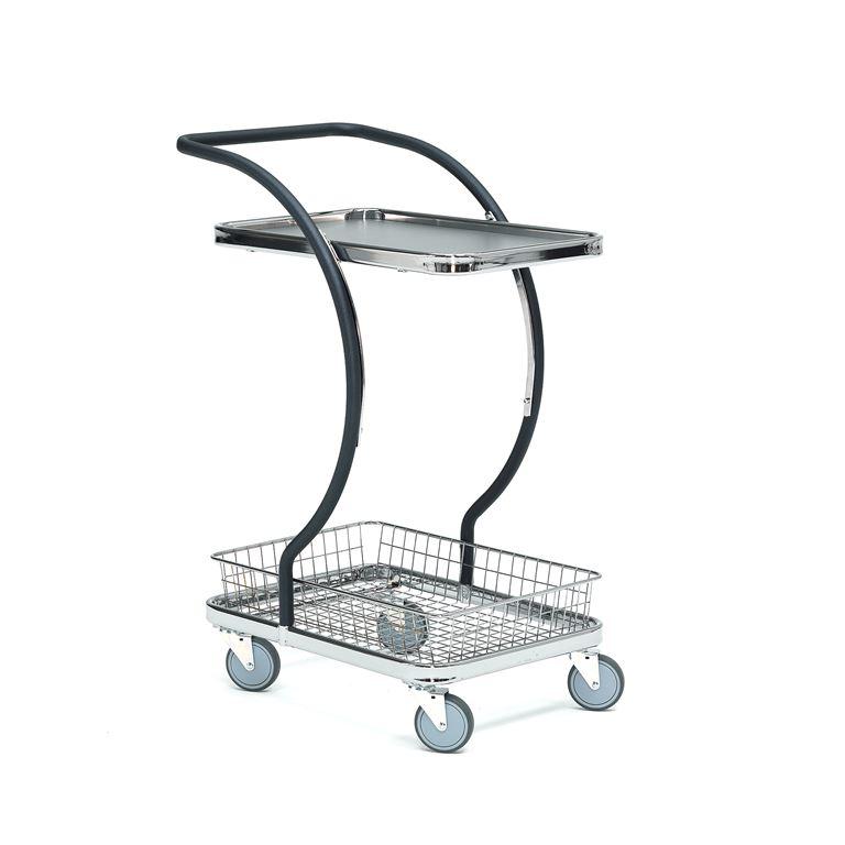 Wózek z koszykiem