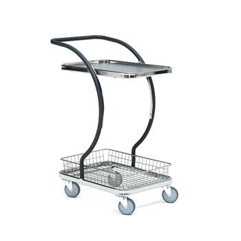 Table trolley 1pcs shelves + 1pcs basket