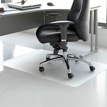 Chair mats, no grippers, 1200x1000mm