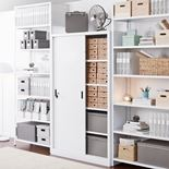 Office cabinet with sliding doors