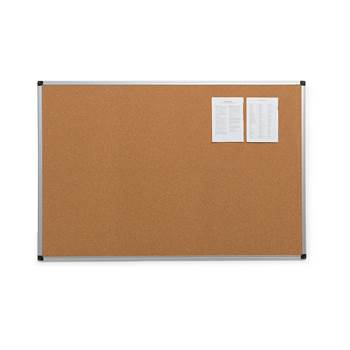 Cork notice board, 900x600 mm