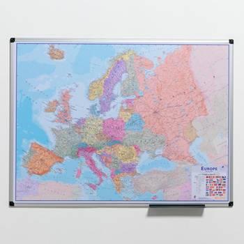 Europakart på Whiteboard