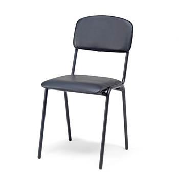 Krzesło stołówkowe.