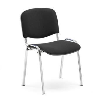 Konferencijska stolica, crna/krom