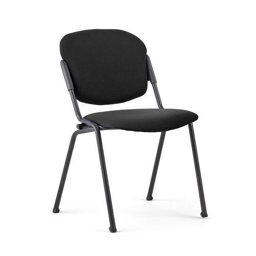 Tuoli, kangas, musta, musta