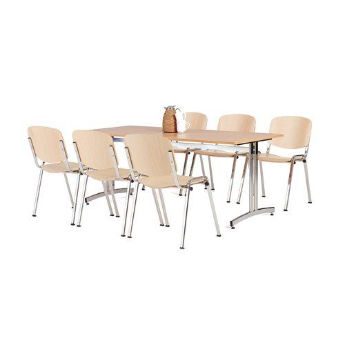 Zestaw mebli do jadalni 1 stół + 6 krzeseł