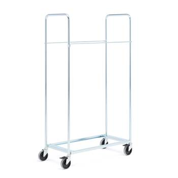 Chair cart for folding plastic chairs (excl. chairs)