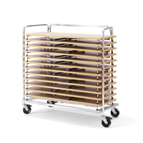 Wózek do transportu stołów