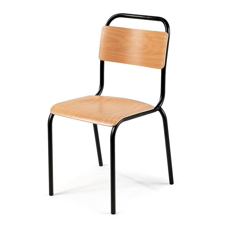 Tuoli, pyökki, musta