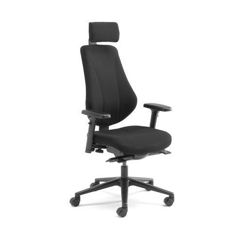 #en Office chair Alford with multi functions, adjustable armrests, headrest