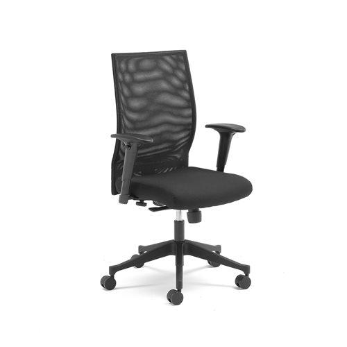 Krzesło z oparciem siatkowym