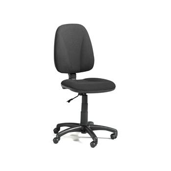Dover office chair, high back, black
