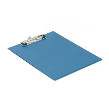 Skriveplate A4, blå