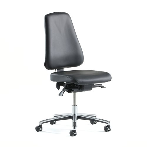 """Ergo"" leather office chair"