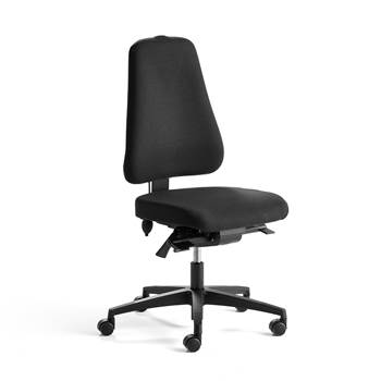 Ergo office chair free float: high: black/black