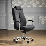 """Sheffield"" office chair: grey"