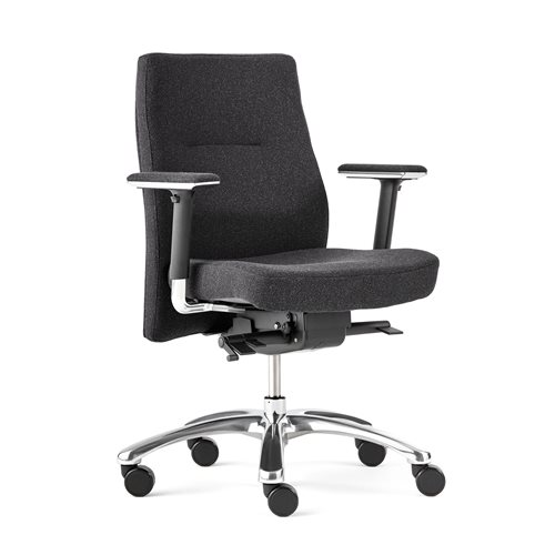 """Nottingham"" office chair: grey"