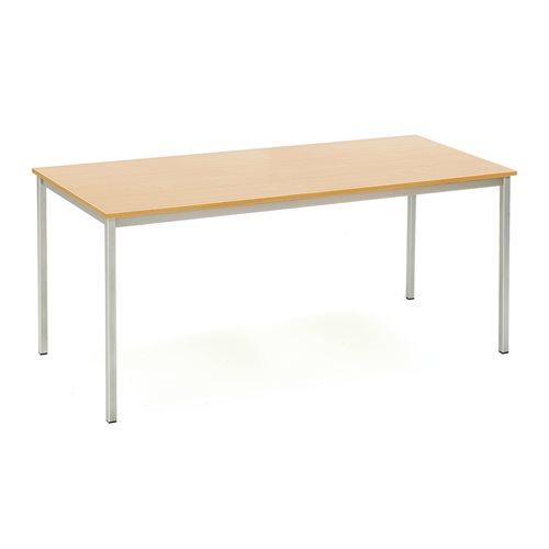 Ruokapöytä, 1800x800 mm, pyökkilaminaatti, harmaa