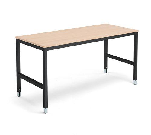 Työpöytä1600x700 mmpyökki/musta