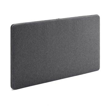 Sound absorbent panels, 1200x650 mm, dark grey