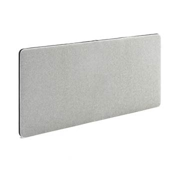 Sound absorbent panels, 1400x650 mm, light grey