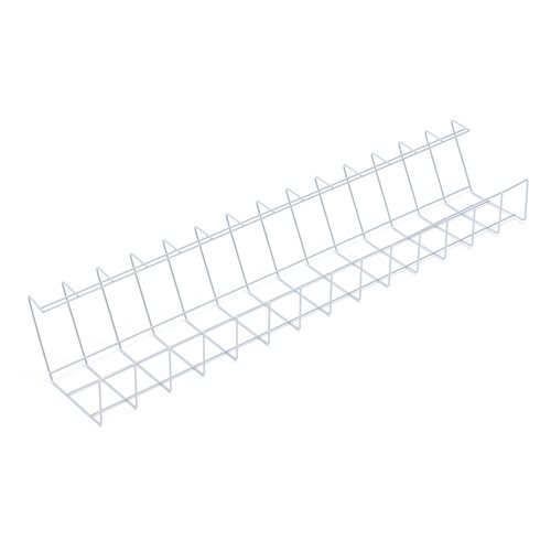 Wire cable tray: D185xH105mm: silver