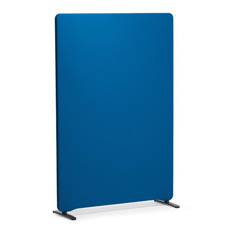 Ścianka działowa, 1500x1000 mm, niebieska