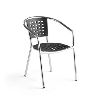 #en Armchair (stack), pol/black
