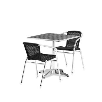 Package deal: Cafe Table + 2 Cafe Chairs