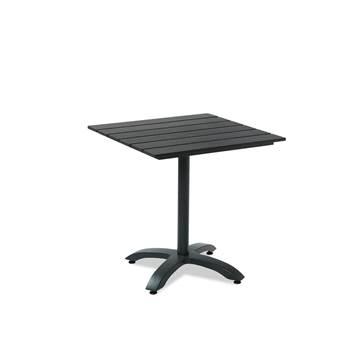 Kafébord, 700x700 mm, svart, treimitasjon