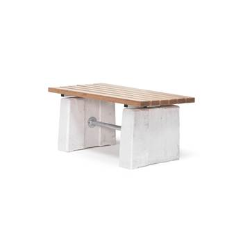 Heavy duty park table, 600x1300x660 mm