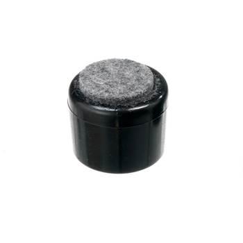 Plastfot med filt, ø16 mm