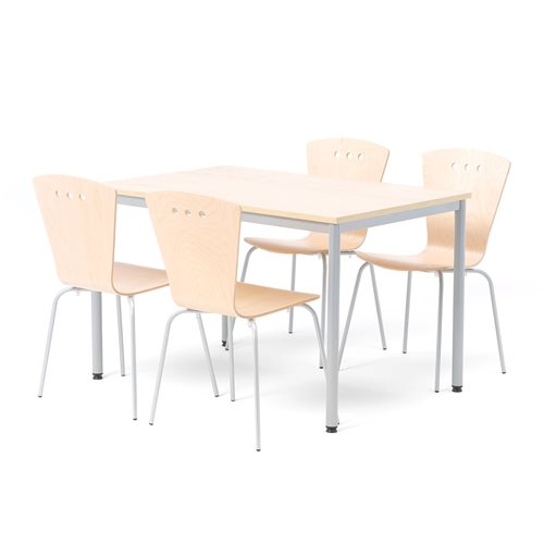 Zestaw do jadalni stół + 4 krzesła